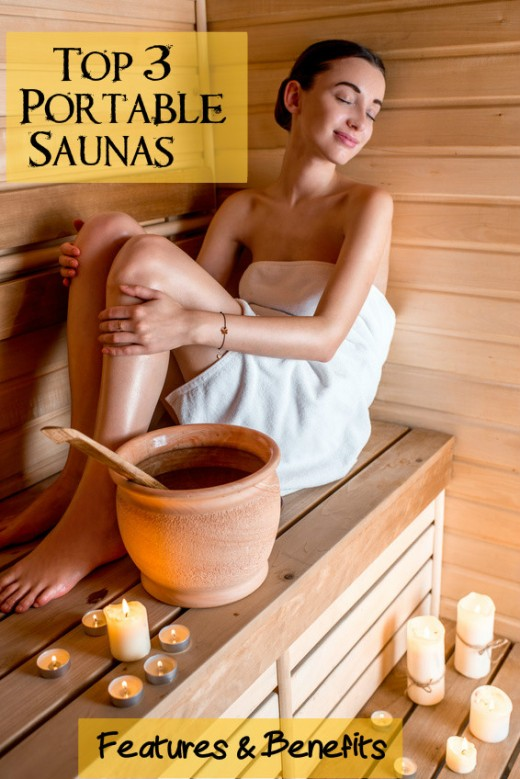Portable saunas are the ideal solution for those who want to enjoy the benefits but can't afford more expensive models.