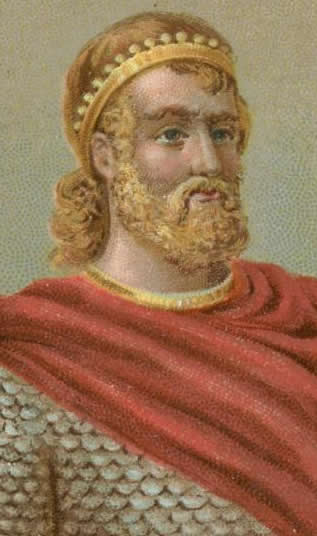 Harthaknut was kept busy in Denmark when his father died in AD 1035, by his neighbour Magnus Olafsson the King of Norway who fancied adding Denmark to his lands