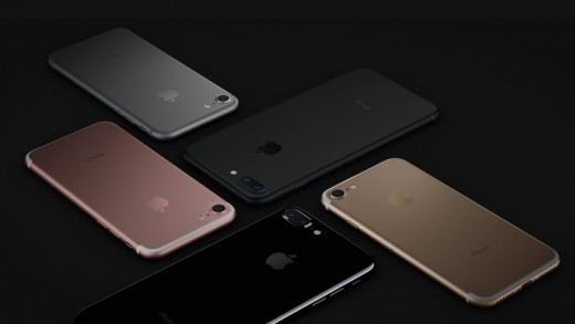 The iPhone 7 comes in 5 different colors: Jet Black, Black, Silver, Rose Gold, and Gold.