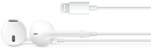 New EarPods with the Lightning connector.