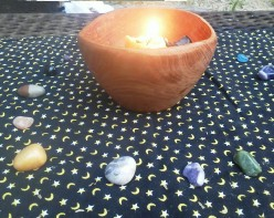 Creating an elemental manifestation altar