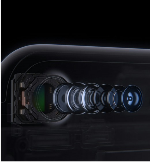 iPhone 7 advanced 12 MP camera.