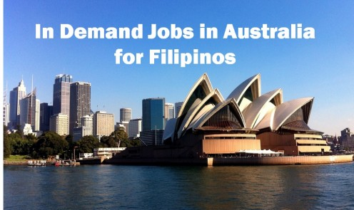 In-Demand Jobs in Australia for Filipinos