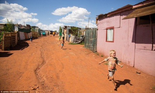 Poor whites in 'all-white' squatter camps - a proof of natural segregation, or racism?