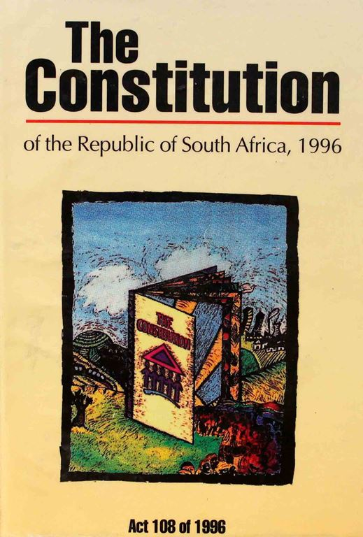 "Harvard law scholar Cass Sunstein called South Africa's Constitution ""the most admirable Constitution in the history of the world."""