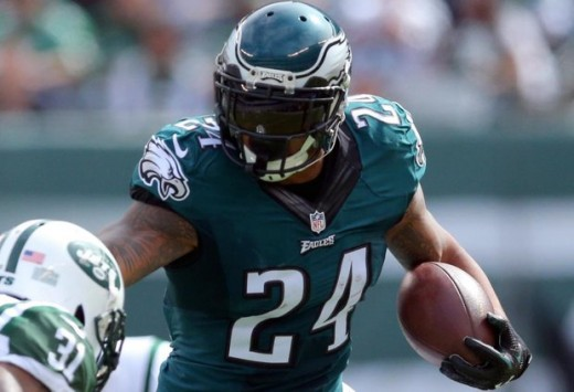 Philadelphia Eagles RB Ryan Mathews