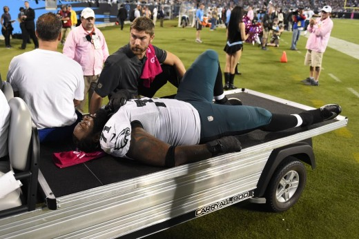 Will LT Jason Peters be able to avoid injury this season?