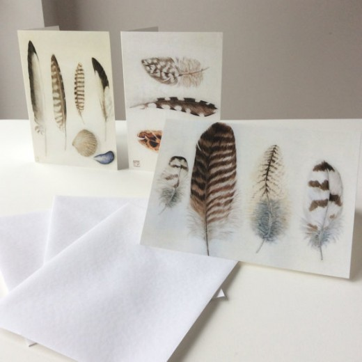 Greetings cards by Louise Young