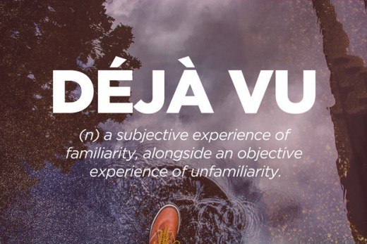 The dichotomy of deja-vu
