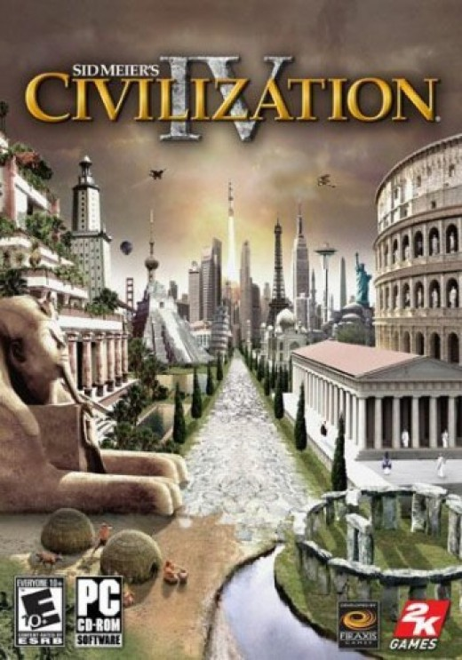 Box art for Civilization IV.