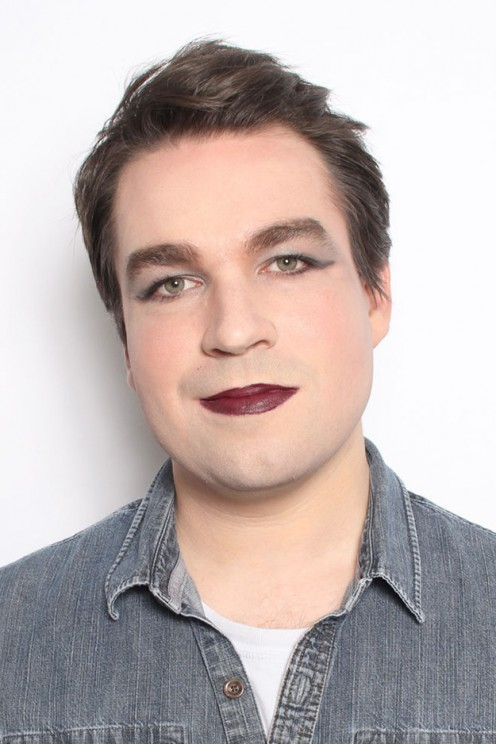 If you are a girl that does not go in for men wearing mascara, lipstick and rouge, then this man is not for you