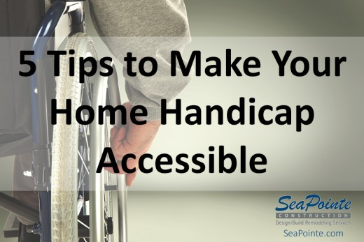 5 Tips to Make Your Home Handicap Accessible