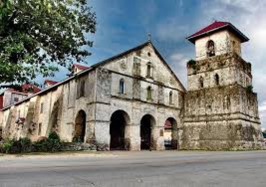 A photo of the Oldest Church in Bohol
