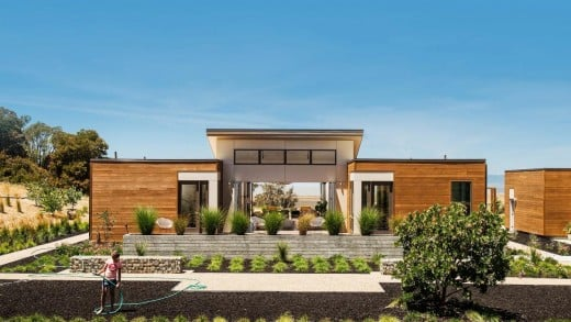 This single-level 3-4 bedroom, 3.5-4.5-bath prefab home