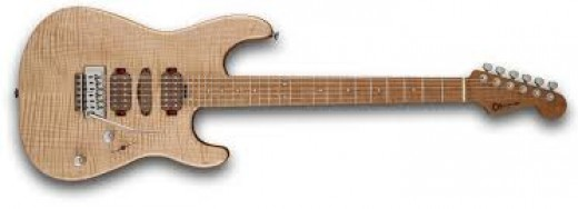 Flame maple top