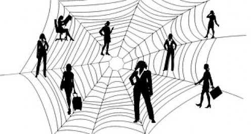 Does it seem as if you are not working, but caught in a spider web at your job and the boss is a poisonous spider?