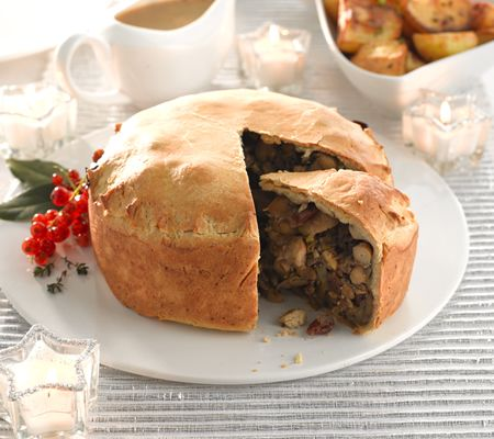 Christmas Pie in a slice