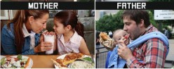 A Huge Difference Between Mother's and Father's Style of Taking Care of Children