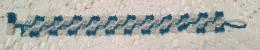 Miyuki Seed - Tr Capri Blue AB MT Miyuki Seed - Antique Ivory Pearl Ceylon 4mm Crystal Bicones