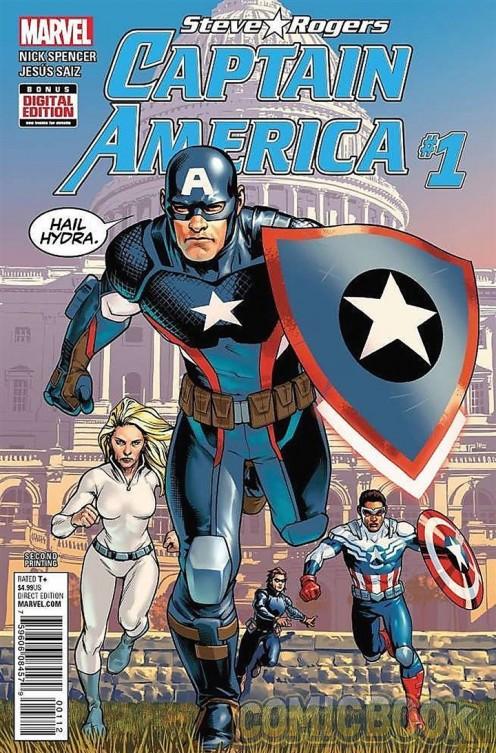 Captain America Comic Display