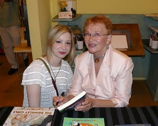 Nemo Award Winner Tina Robbins signing a book