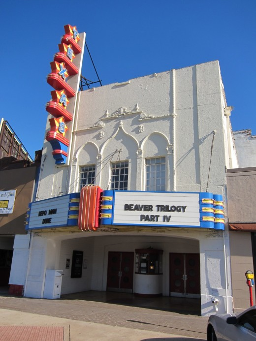 The Texas Theater, where Oswald was arrested, looks much as it did in 1963.