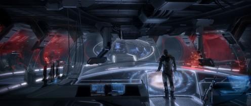 Mass Effect concept art.