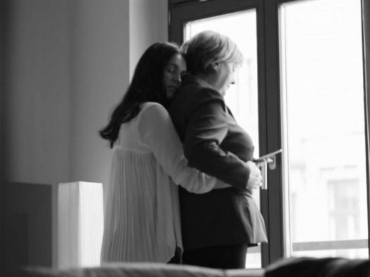 No longer ashamed of trying to hide here relationship with long-time aide Huma Abedin, Hillary shared this special moment the two experienced recently.