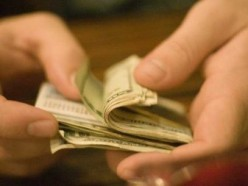 This is the goal of every con man: A poor sucker's hard earned money