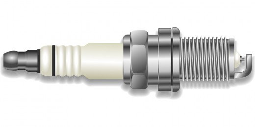 This is an example of a spark plug and the white part shown in the photo is the porcelain part you need to break and throw hardly on the window to break it.