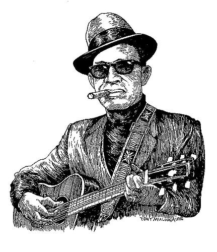 Muted musician