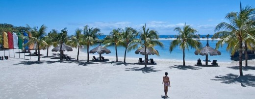 strand resort in Mactan island, Cebu
