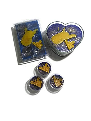 West Virginia themed wax melts and candles are a fantastic gift idea for any WV Mountaineers fan.