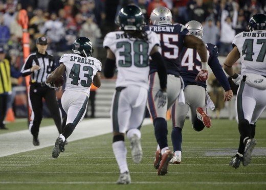 Philadelphia Eagles Pro Bowl Punt Returner Darren Sproles