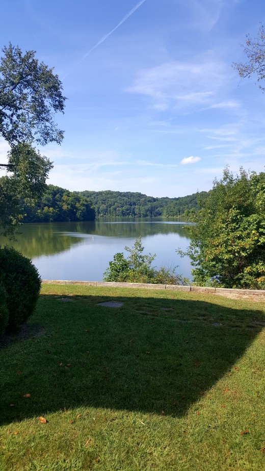The beautiful view of the water today. This was a grazing field in the 1800s up through the early 1900s.
