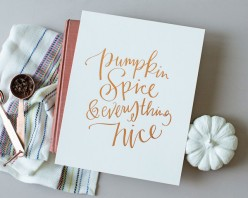 Pumpkin Spice Recipes and Products