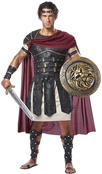 Use this Halloween costume to dress up as the strong and cunning Odysseus, king of Ithaca, or the faithful and loving Ceyx, king of Thessaly.