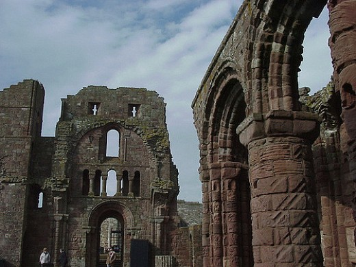 Lindisfarne Monastery Ruins C J Rodkey