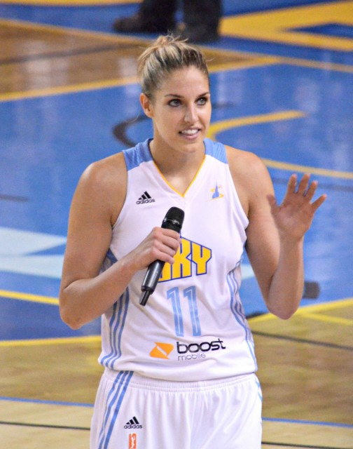 Elena Delle Donne  is a WNBA star