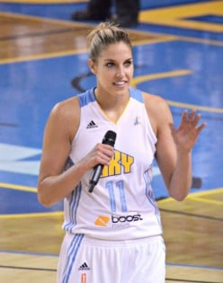Elena Delle Donne  is a WNBA star