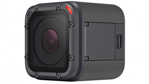 The Hero5 Session is the smallest action camera that can record 4k video.