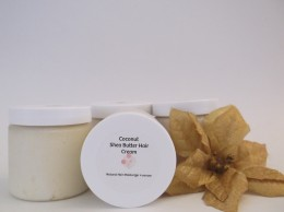 Tropical Whipped Coconut Shea Butter with Argan Oil for Natural Hair