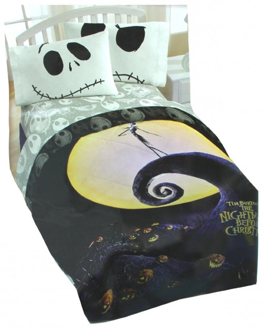 Nightmare Before Christmas Bedding. Nightmare Before Christmas Bedroom D cor Ideas   hubpages