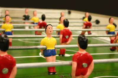 Foosball! A wonderful addition to any game room!