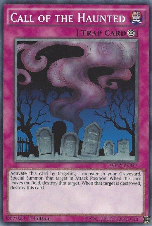 Ironically, this is that one graveyard you'll want to have a picnic in, because it'll save your lifepoints.