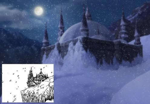 Kaguya's castle.