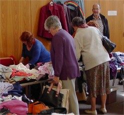 Rich picking were to be had at the Jumble Sales
