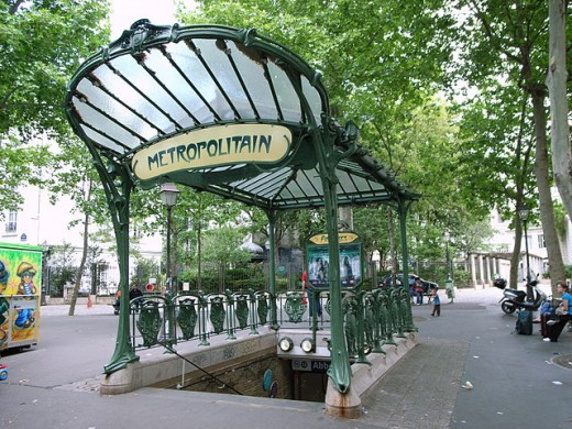 "Métro is the abbreviated name of the company which originally operated most of the network: La Compagnie du chemin de fer métropolitain de Paris, shortened to ""Le Métropolitain"". That was quickly abbreviated to métro, which became a common word also"
