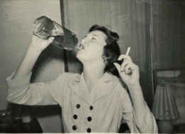 My mother was emotionally absent because her mom was an alcoholic.