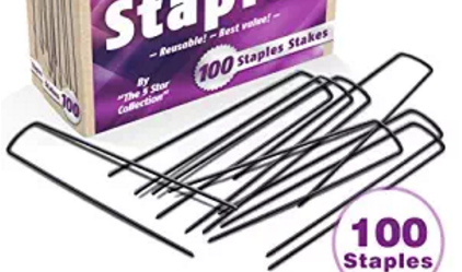 Garden staples also called as sod staples, and landscape staples are used to fasten wires, tubes, fabrics and others.